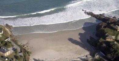 Playa Areoura en Foz