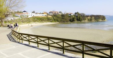 Playa Ares en Ares