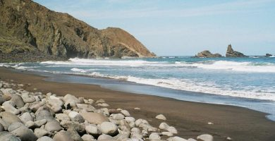Playa Arguamul en Vallehermoso