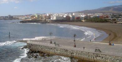 Playa Arinaga en Agüimes