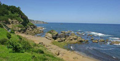 Playa Armazá en Coaña