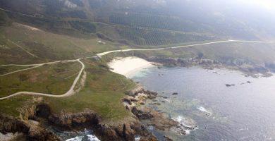 Playa Arnado en Laxe