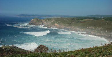 Playa Arnela en Fisterra