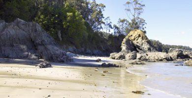 Playa Arnela A Vella en Sada