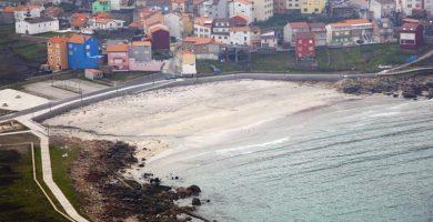 Playa Arou en Camariñas