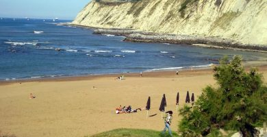 Playa Arrigunaga en Getxo