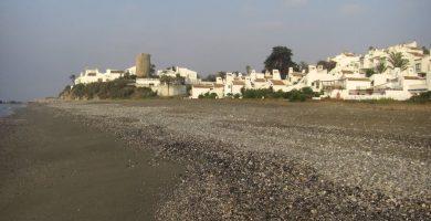 Playa Arroyo Vaquero en Estepona