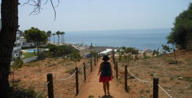 Playa Artola en Marbella