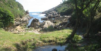 Playa Artzuportu en Hondarribia