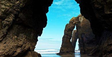 Playa As Catedrais en Ribadeo