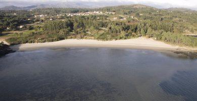 Playa As Cunchas en Rianxo