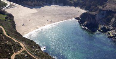 Playa As Lapas en A Coruña