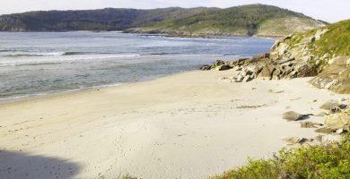 Playa As Maseiras en Cabana de Bergantiños