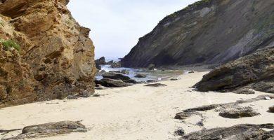 Playa As Torradas en Malpica de Bergantiños