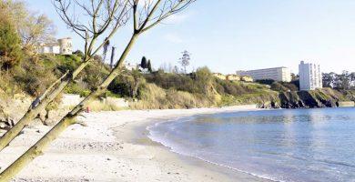 Playa Atalaya en Oleiros