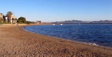 Playa Bahía de las palmeras en Cartagena