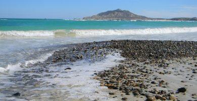 Playa Bahínas en Castrillón