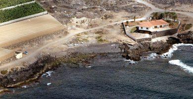 Playa Baja Larga en Guía de Isora