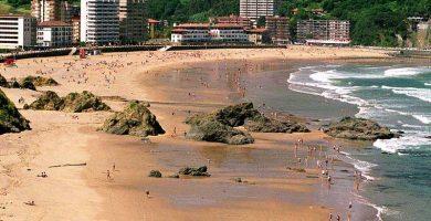 Playa Bakio en Bakio
