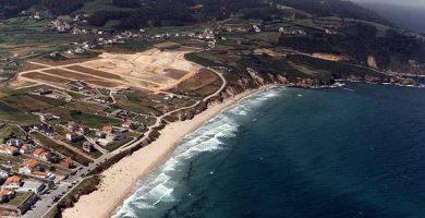 Playa Baldaio en Carballo