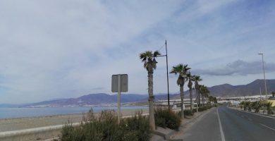 Playa Balerma en El Ejido