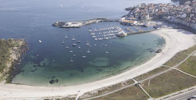 Playa Baltar en Sanxenxo