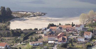 Playa Bamio en Vilagarcía de Arousa