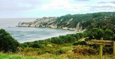 Playa Barayo en Valdés