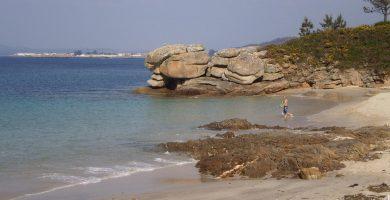 Playa Barcela en O Grove