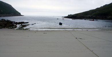 Playa Barda Pequeña en Ponteceso