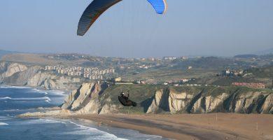 Playa Barinatxe en Getxo