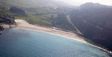 Playa Barizo en Malpica de Bergantiños