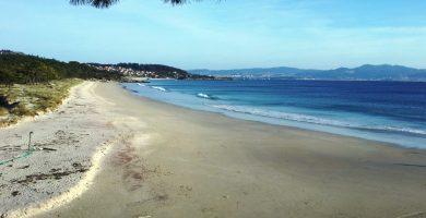 Playa Barra en Cangas