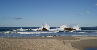 Playa Barrañán en Arteixo
