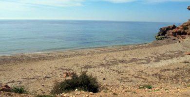 Playa Barranco Ancho en Mazarrón