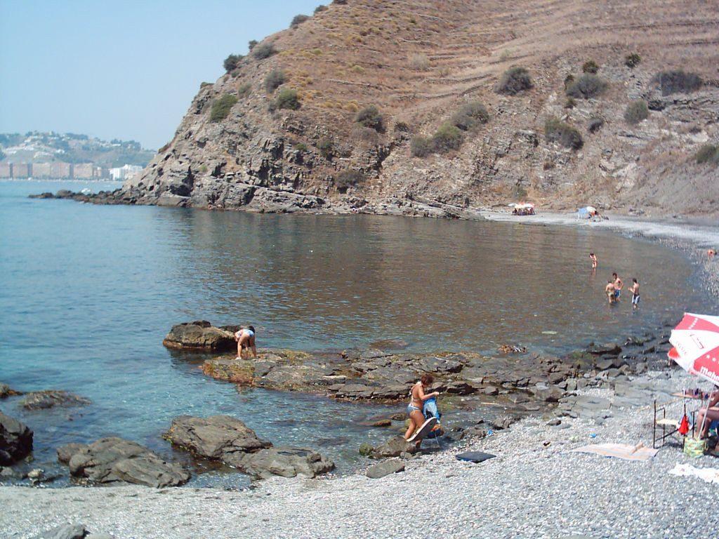 Playa Barranco de Enmedio en Almuñécar