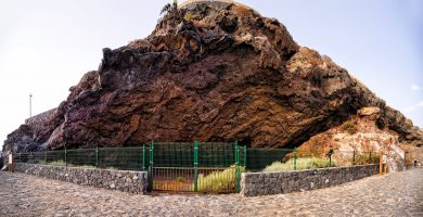 Playa Barranco del Burro en Tinajo