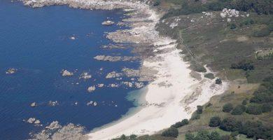 Playa Barreiriño en O Grove
