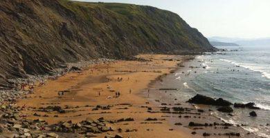 Playa Barrika en Barrika