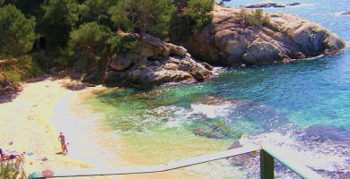 Playa Belladona en Calonge