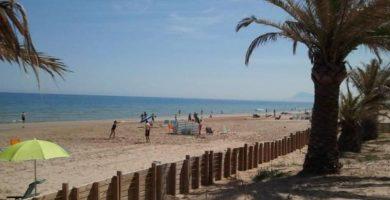 Playa Bellreguard en Bellreguard