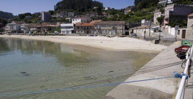 Playa Beluso en Bueu