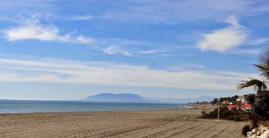 Playa Benajarafe en Vélez-Málaga