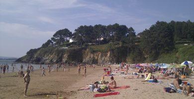 Playa Ber en Pontedeume