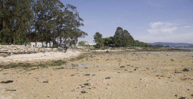Playa Bico da Ran en Cambados