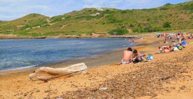 Playa Binimel-La en Es Mercadal