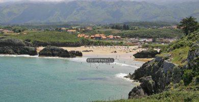 Playa Borizo en Llanes