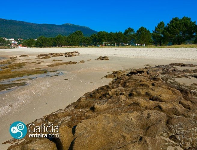 Playa Bornalle en Muros