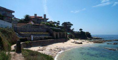 Playa Buraca en Vigo