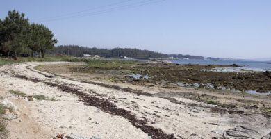 Playa Cabalgada en Vilanova de Arousa
